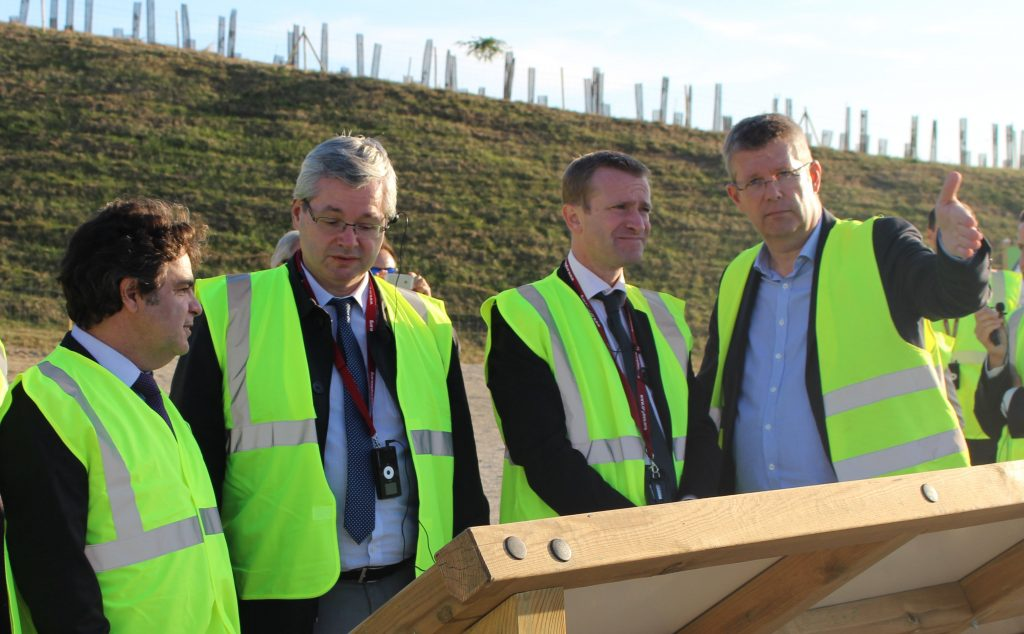 Inauguration de la nouvelle plateforme Biogaz