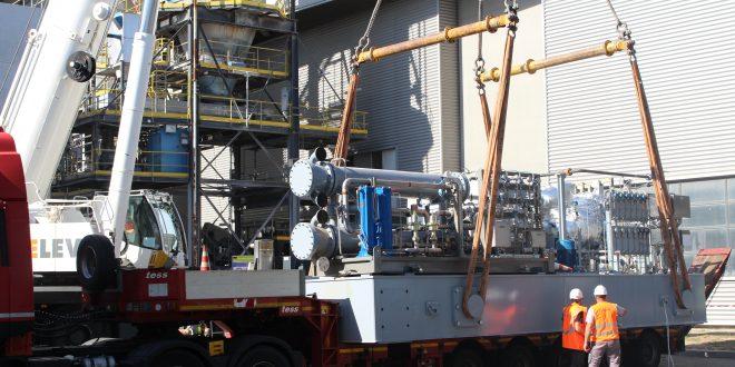 Levage turbine chaleur CITD pour Grand Paris Sud