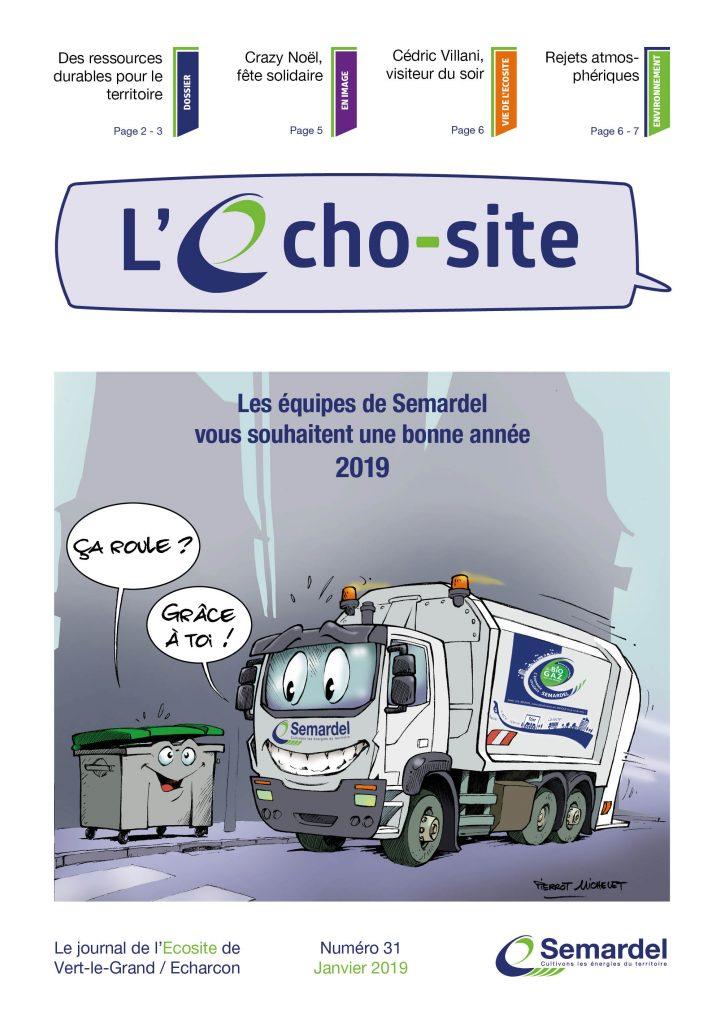 Echo-site n°31 - janvier 2019