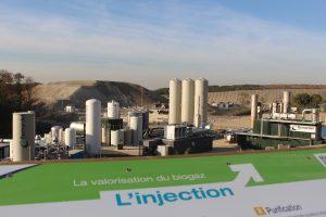 Semardel première entreprise d'Île-de-France a injecté du biométhane issu d'un centre de stockage de déchets dans le réseau