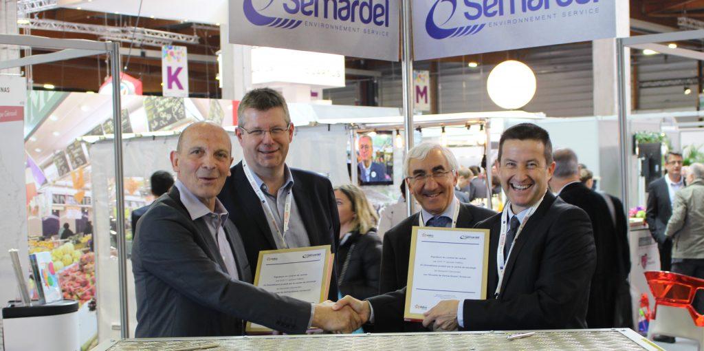 Signature du contrat de rachat du biométhane de Semardel par Dalkia, groupe EDF
