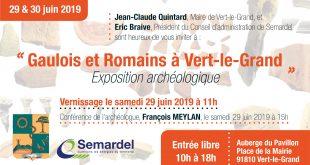 Exposition archéologique à Vert-le-Grand