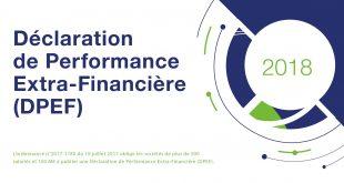 Déclaration de Performance Extra-Financière 2018